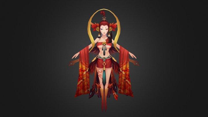 yuyan-anime character 3D Model