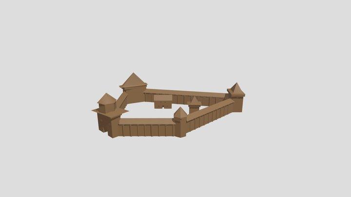 Радошковичский замок 3D Model
