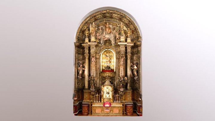 Retablo Barroco Iglesia de San Miguel en Murcia 3D Model