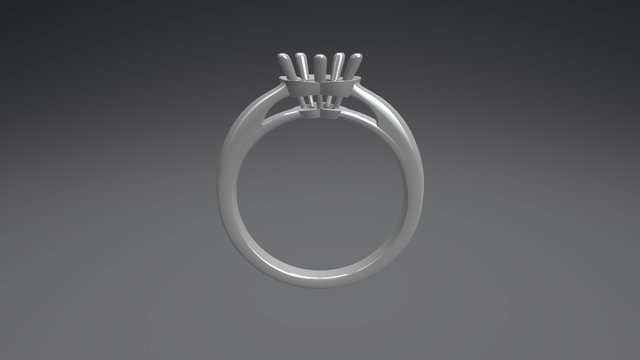 0.5ct Cflower 3D Model
