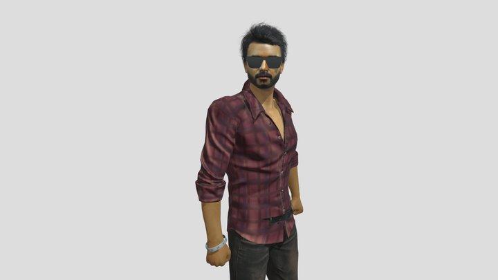 Vijay the Master 3D 3D Model
