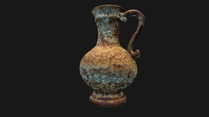 Old urn from sunken shipwreck  284pics *wip* 3D Model