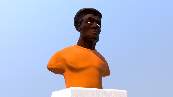 Busto humano 3D Model