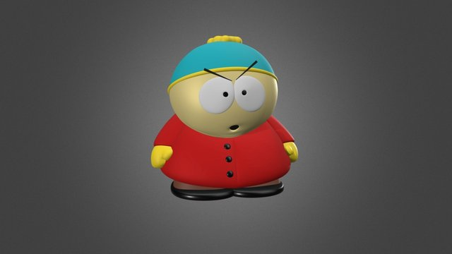 Eric Cartman - South Park 3D Model