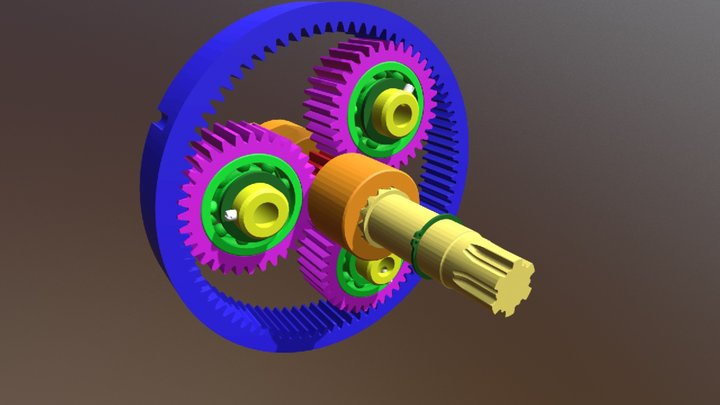 Planetovy prevod 3D Model