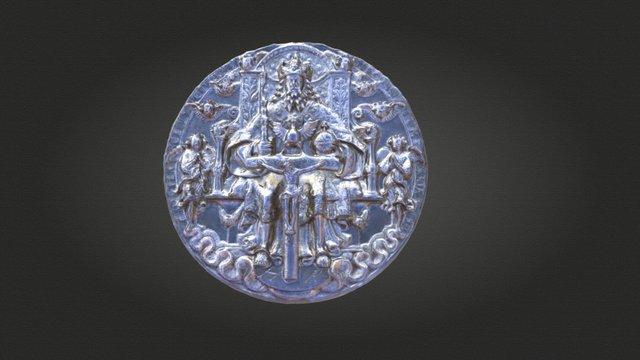 Dreifaltigkeitsmedaille / Trinity Medal 3D Model