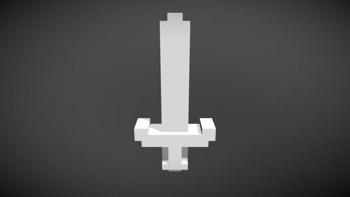 Voxel Sword #1 3D Model