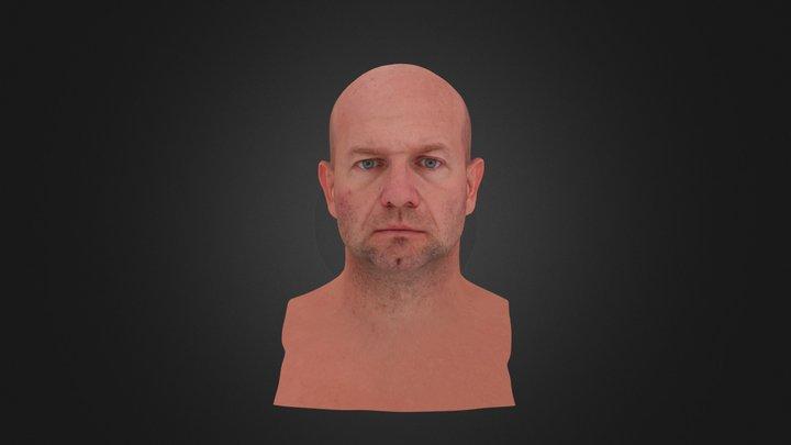 3D Scan - Richard - Cleaned - Relax 3D Model