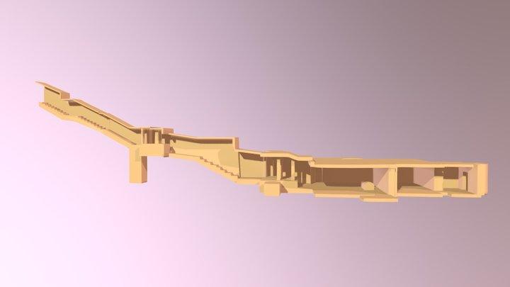 KV57 - Horemheb 3D Model