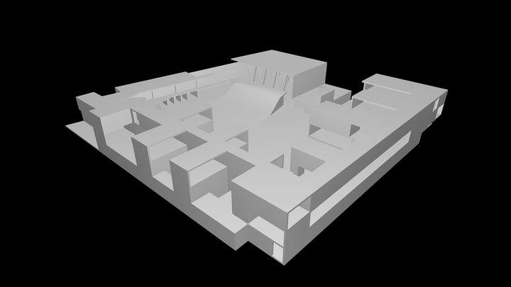 Rafal Secondary School - Grupo Aranea 3D Model