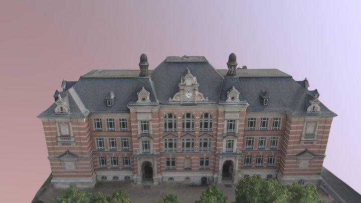 Karl-Volkmar-Stoy-Schule Jena (HQ) 3D Model