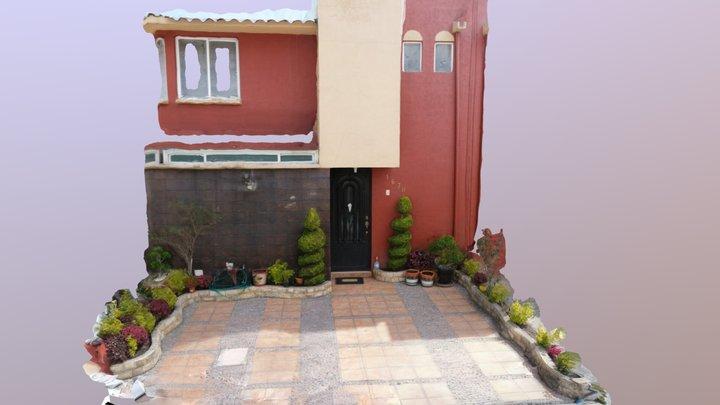 House Porch - Toluca, Mexico 3D Model