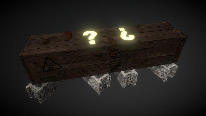 Mystery Box Call of Duty 3D Model