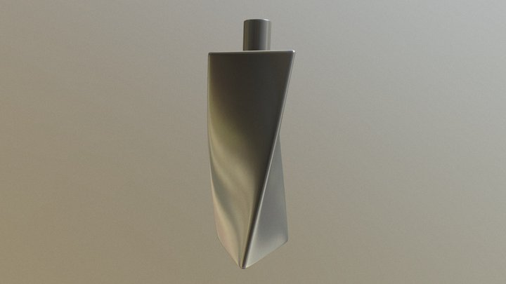 Twisted Perfume 3D Model