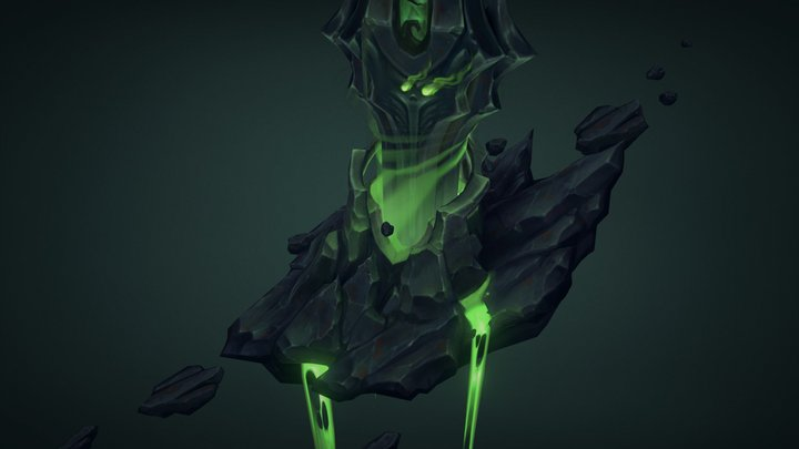Floating tower from Mardum - WoW Legion contest 3D Model