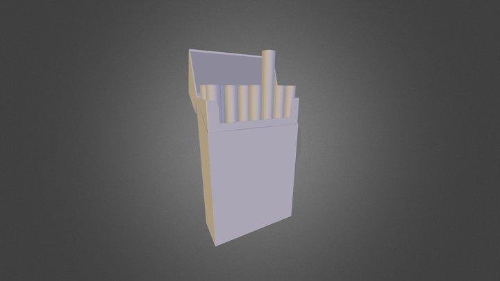 Cigarettes 3D Model