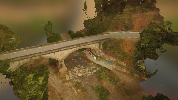 """Bridge Over """"Minimum"""" Water 3D Model"""