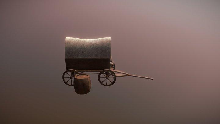 Farmer kart 3D Model