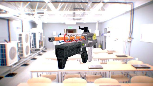 railgun 3D Model