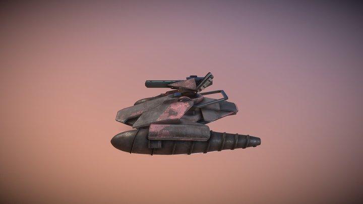 Heavy Scout LP 3D Model