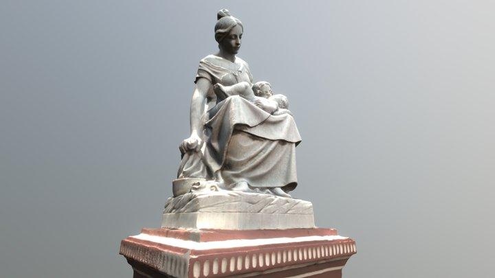 Monumento a la Madre, Granada. 3D Model