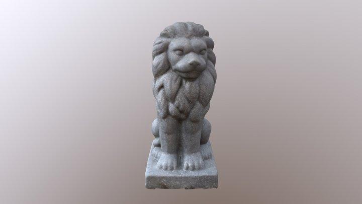 Stone Lion 1 3D Model