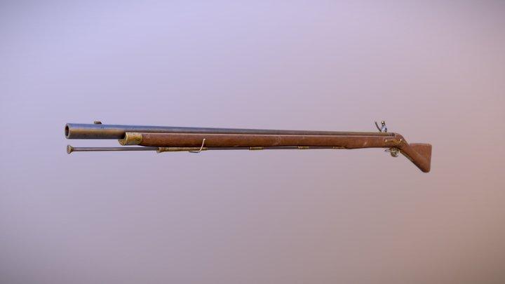 Brown Bess 3D Model