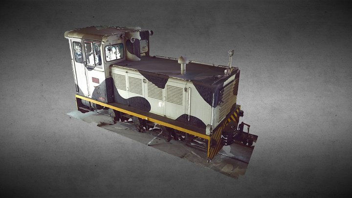 台糖801機車頭 3D Model