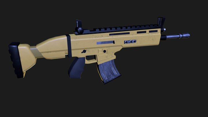 Scar-L 3D Model
