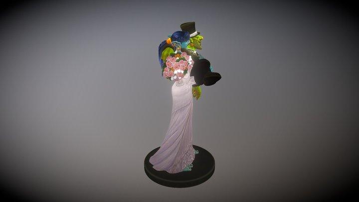 Wow Wedding 3D Model