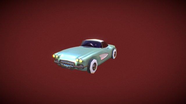 Corvette -1958 3D Model