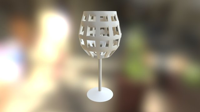 Christensen Winecage 3D Model
