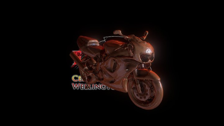 Fireblade Meshmixed 3D Model