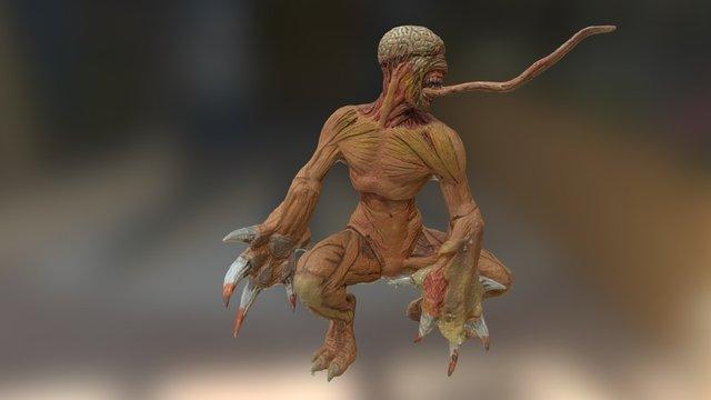Resident - Monstre 3D Model