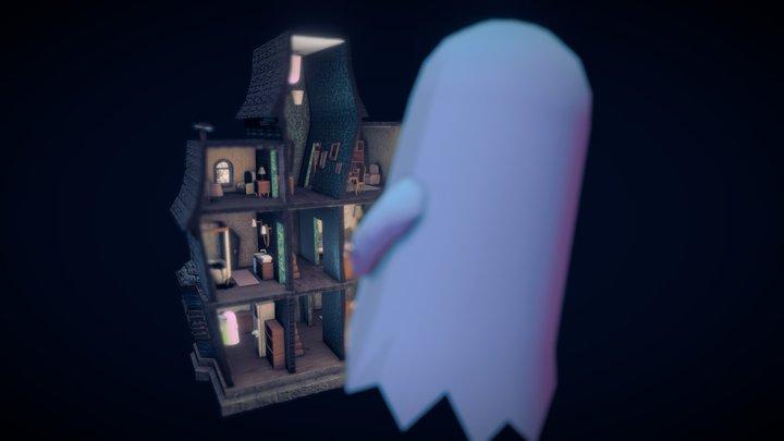 Haunted dollhouse 3D Model