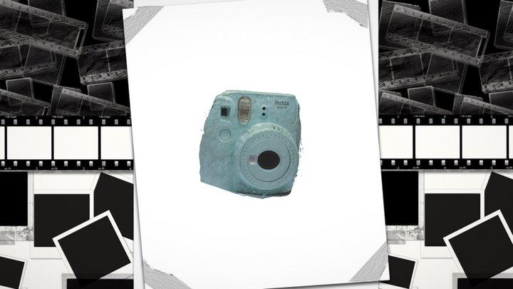 Instax Mini 9 Polaroid Camera 3D Model