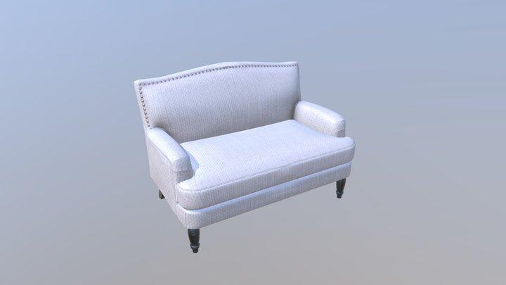 Comfortable sofa 3D Model