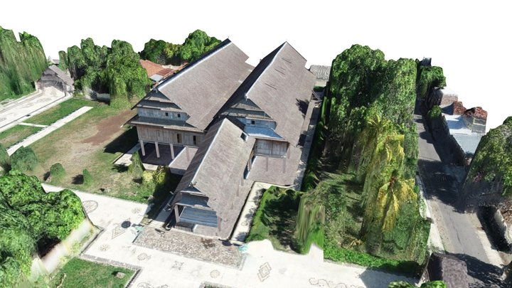 Istana Dalam Loka 3D Model