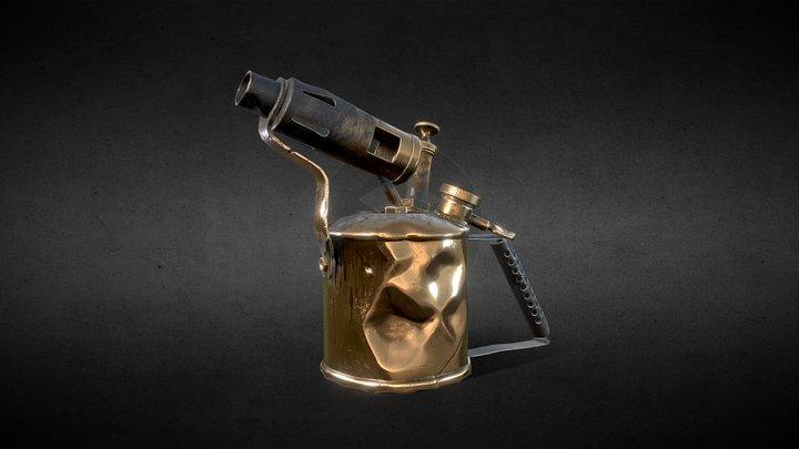 Gaz Lamp 3D Model