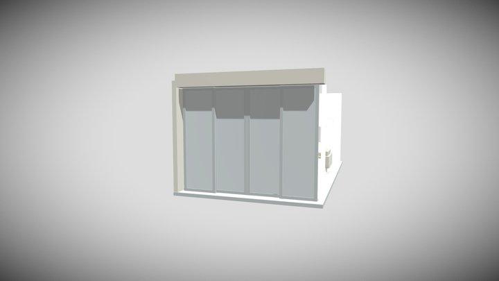 Twickenham Stadium Corporate VIP Box 3D Model