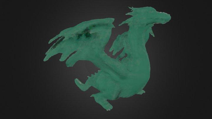 Dragon Mesh 3D Model