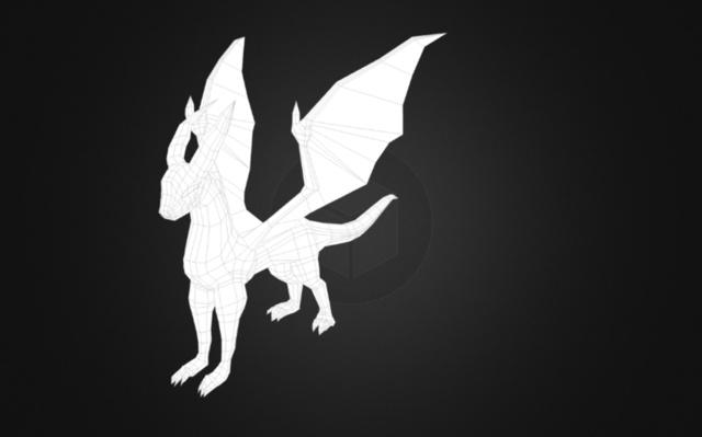 dragon2_4_1 3D Model