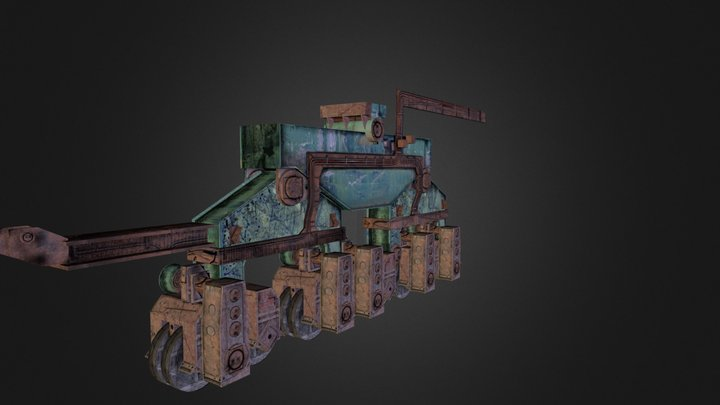 Wheelset.obj 3D Model