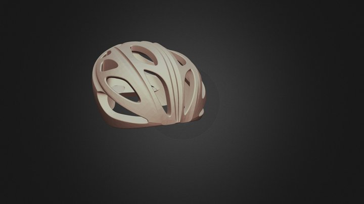 Bike helmet alain poirier explora.STL 3D Model