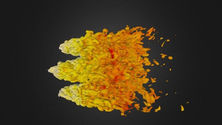Cloud Crushing - 1.000000e-23 3D Model
