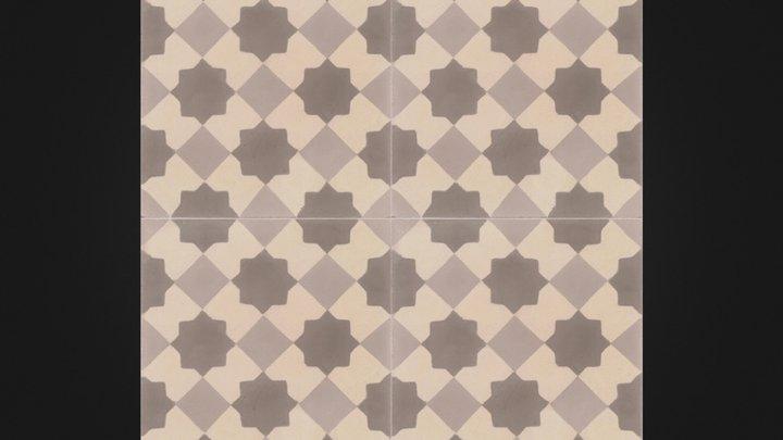 Eric- Moroccan tile 3D Model