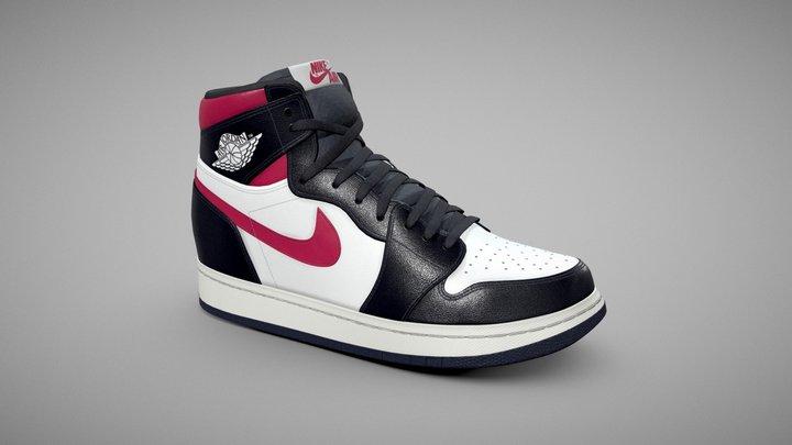 Nike Air Jordan 3D Model