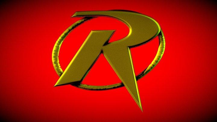 Tim Drake Robin Shield With No Backing 3D Model