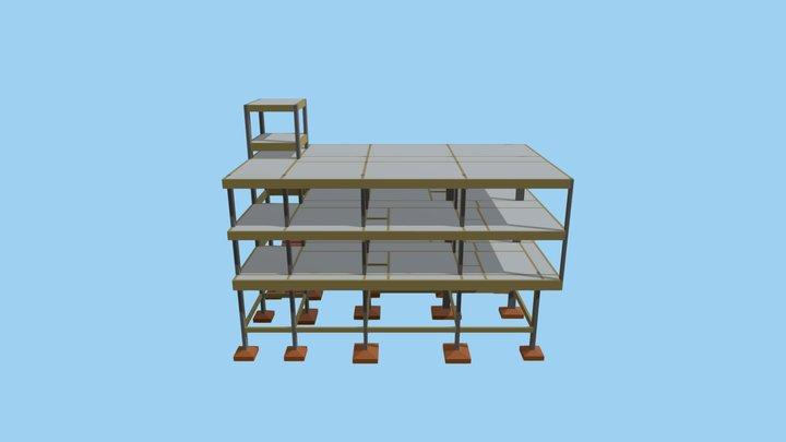 Projeto Estrutural - Iguatu (Joeferson Abrão) 3D Model