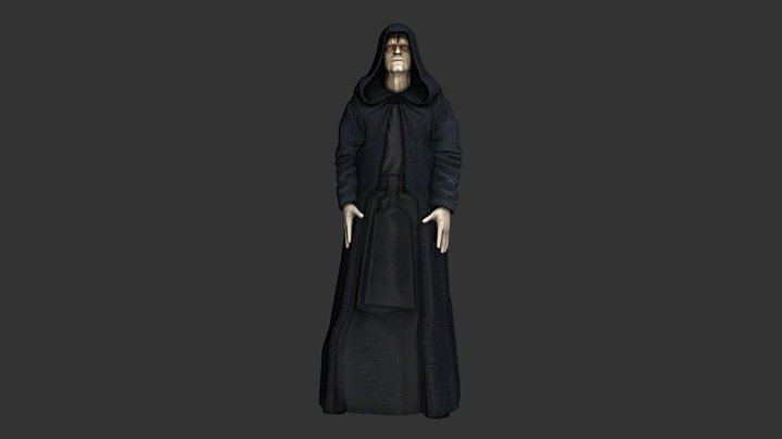 Emperor Palpatine / Darth Sidious 3D Model